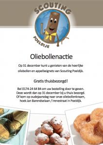 Oliebollenverkoop @ Hoek Jan Barendselaan / Irenestraat | Poeldijk | Zuid-Holland | Nederland
